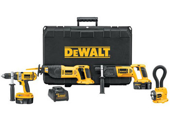DC4MEGA - Heavy-Duty XRP™ 18V Cordless 4-Tool Combo Kit