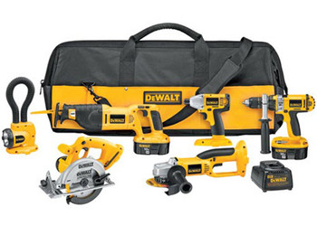 DC6PAKIA - Heavy-Duty XRP™ 18V Cordless Combo Kit