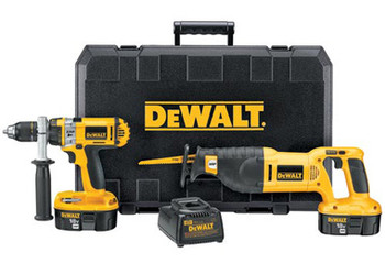 DC988CA - Heavy-Duty XRP™ 18V Cordless 3-Tool Combo Kit