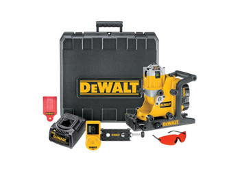 DW073KD - Heavy-Duty 18V Cordless Rotary Laser - Combo Kit (Int/Ext)