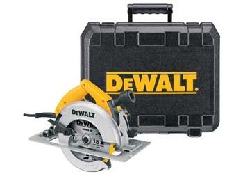DW364K - 7-1/4in. Rear Pivot Circular Saw Kit w/ Electric Brake