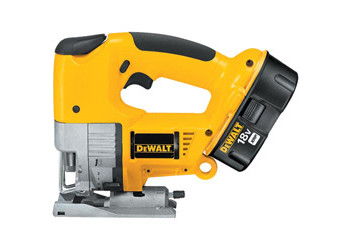 DW933K - Heavy-Duty 18V Cordless Variable Speed Jig Saw Kit