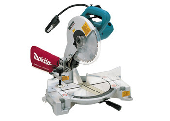 LS1040F - 10in. Compound Miter Saw, fluorescent light