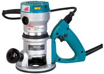 RD1101 - 2-1/4 H.P. D-Handle Router, 8,000-24,000 RPM, var. spd.